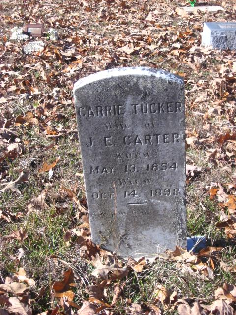 Carrie M Tucker