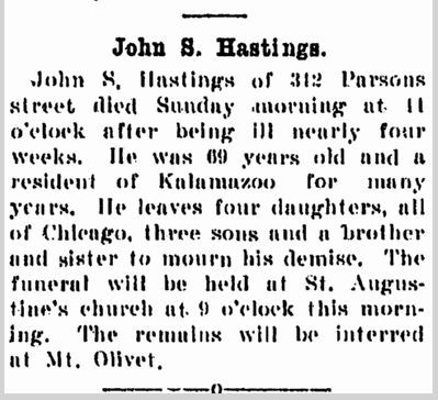 John Silas Hastings