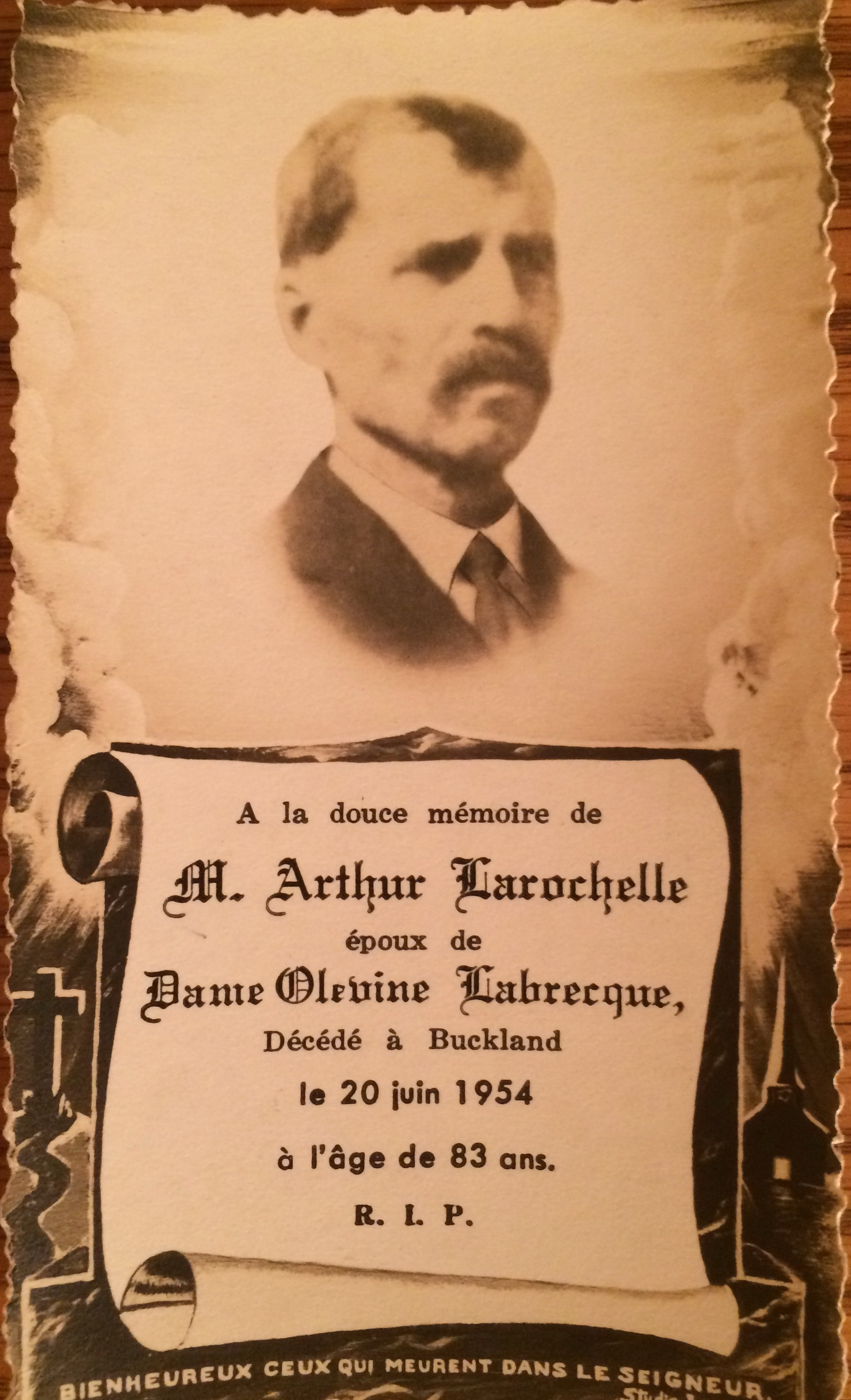 Arthur LaRochelle