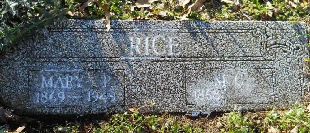 Ruth Lee Rice