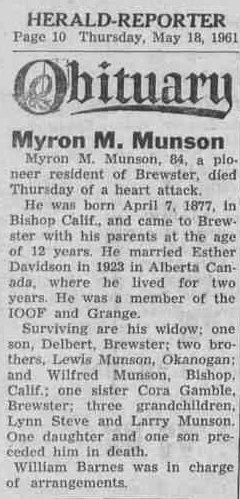 Myrtle Munson