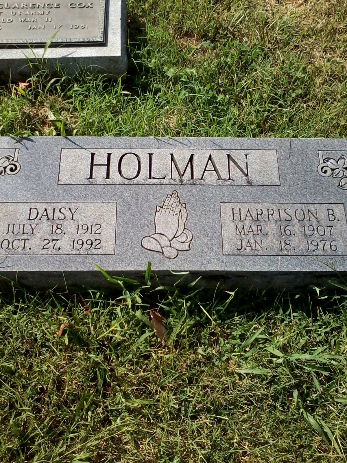 Harrison B Holman
