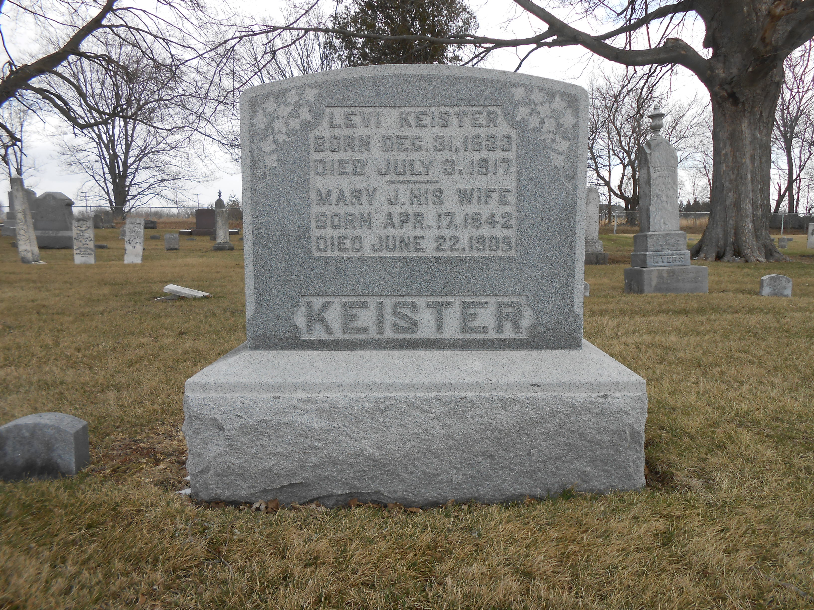 Levi Wesley Keister