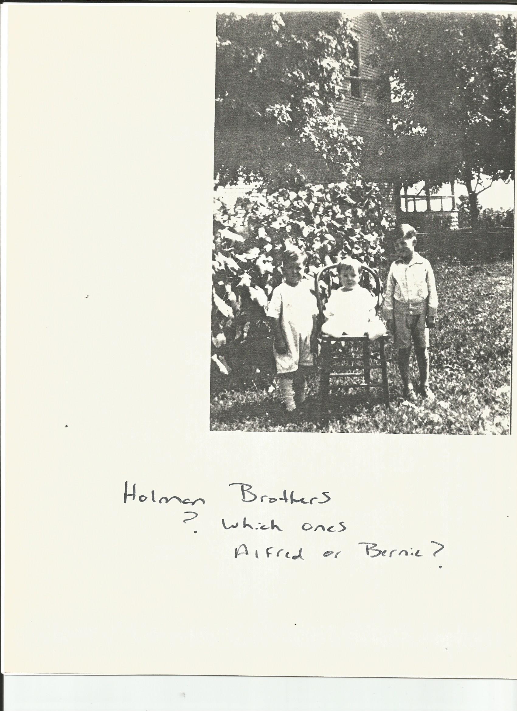Bernard Holman