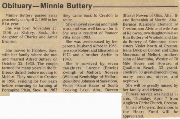 Minnie Bronson