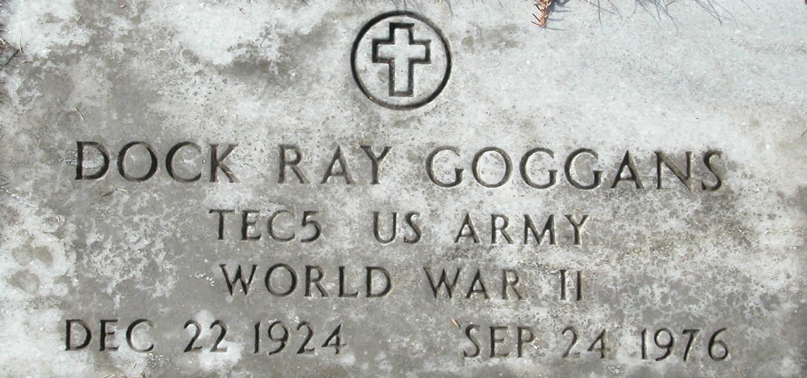 Edsel Rexford Goggans