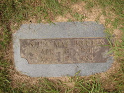 Janetta Matheny Borden