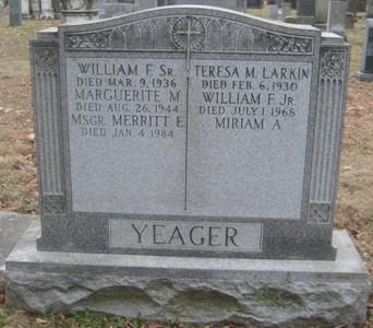 William P Yeager