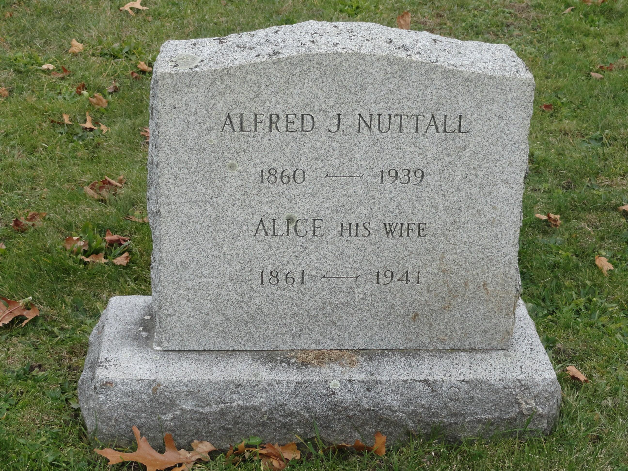 Wilmer J Nuttall