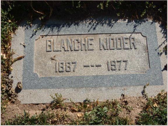 Blanche Mabel Kidder