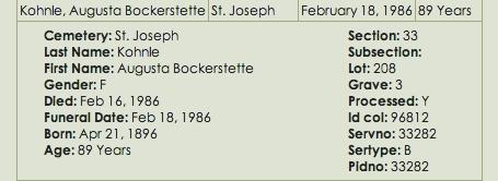 George Bockerstette