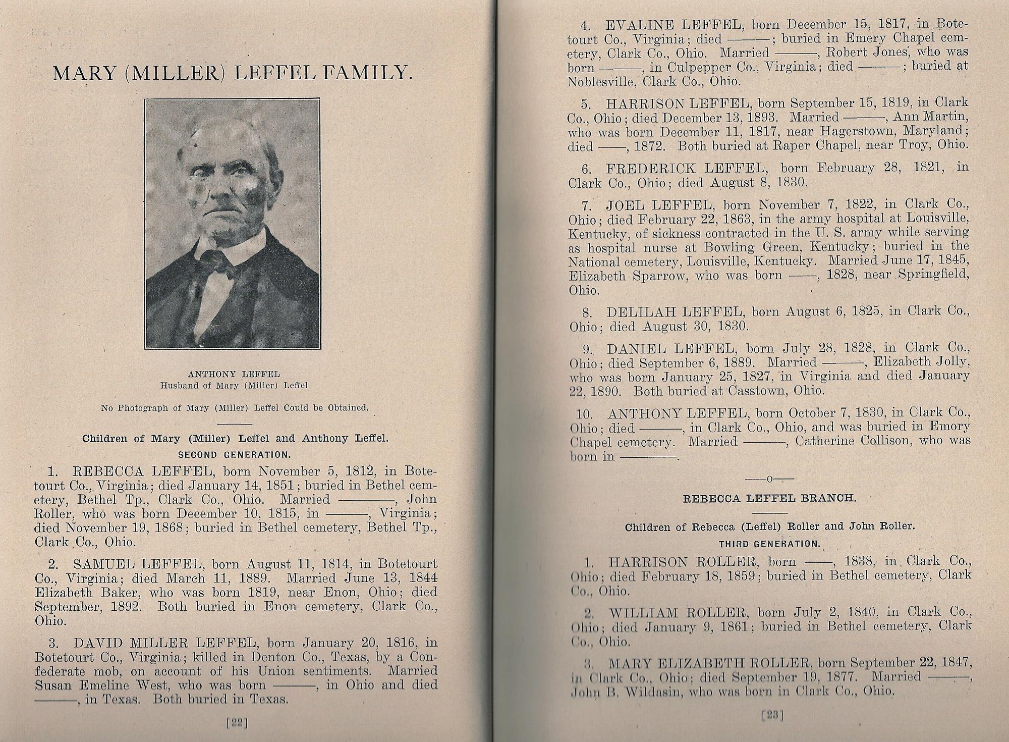 David Miller Leffel