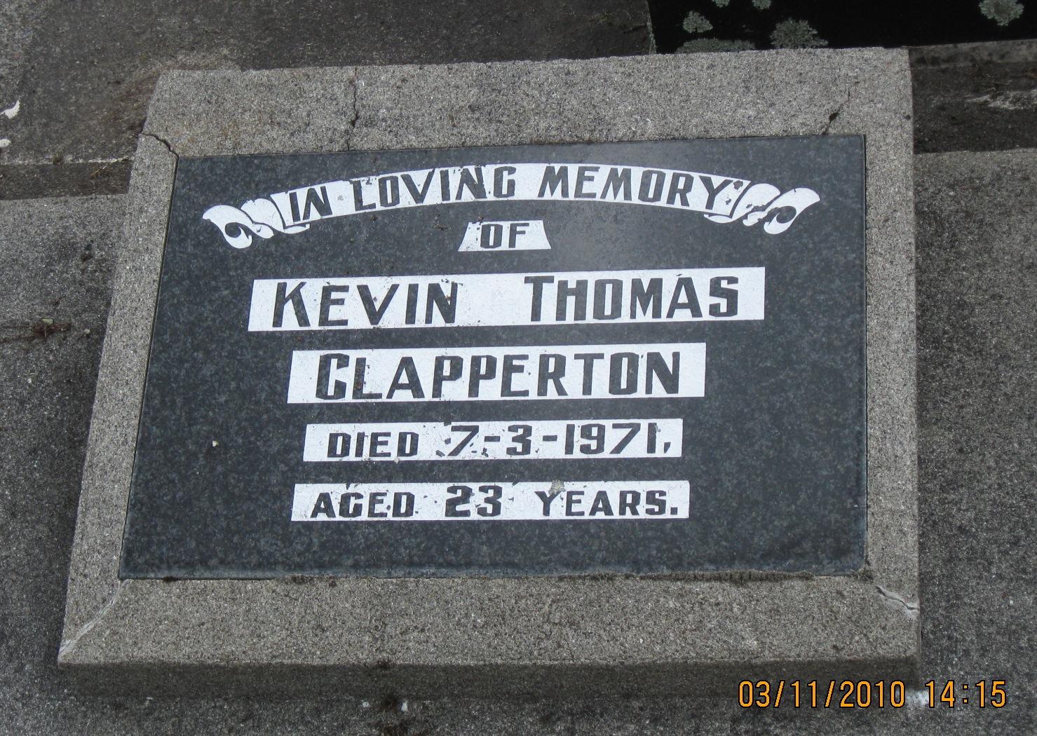 Thomas Clapperton