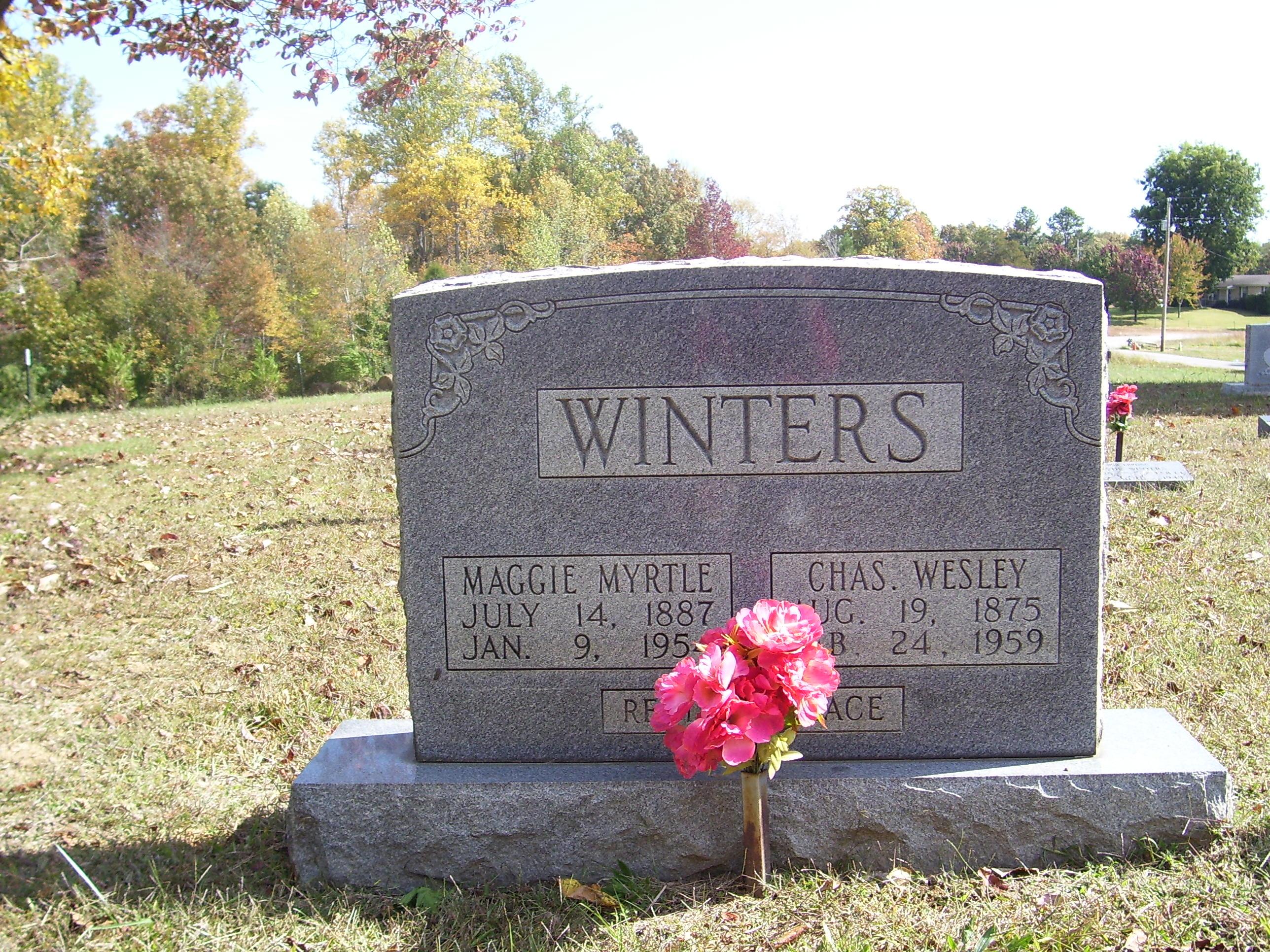 Charles Wesley Winters