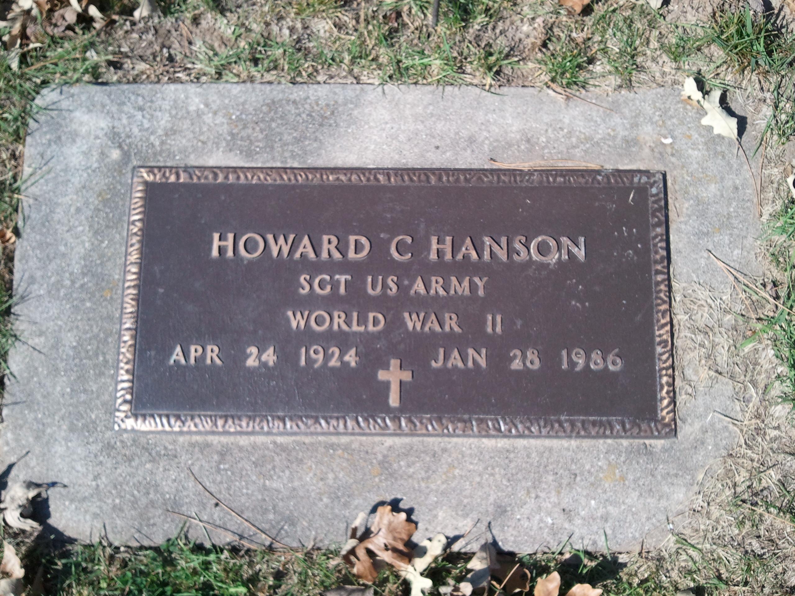 Charles T Hanson