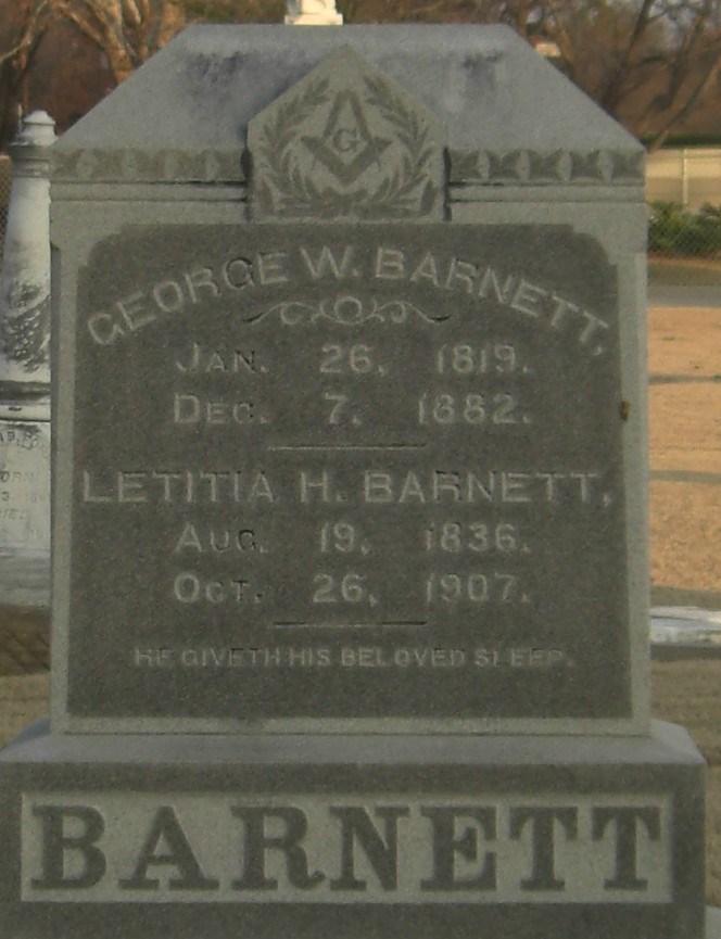 George Washington Barnett
