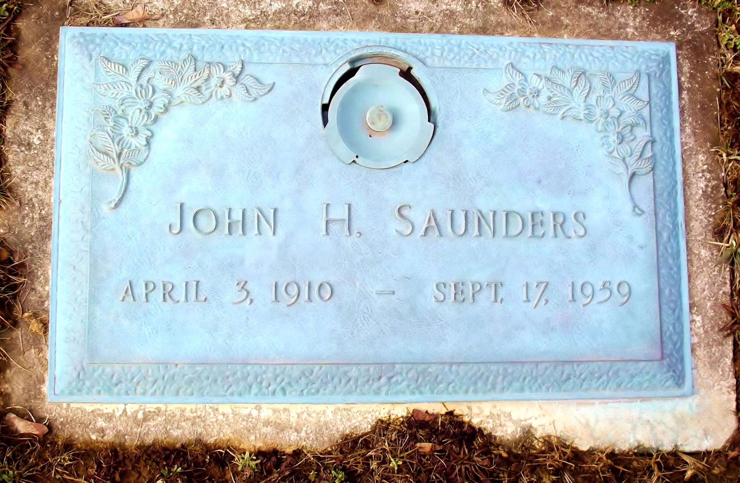 John H Saunders