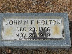 John F Holton