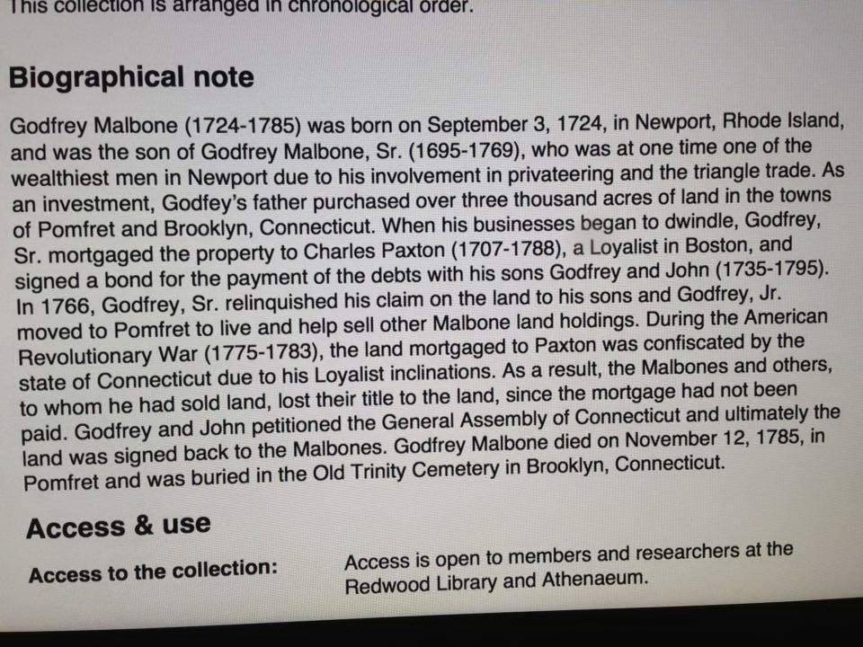 Godfrey Malbone