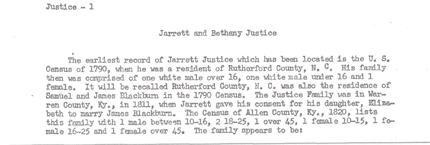 Andrew Jackson Justice