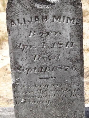 Benjamin Franklin Mims
