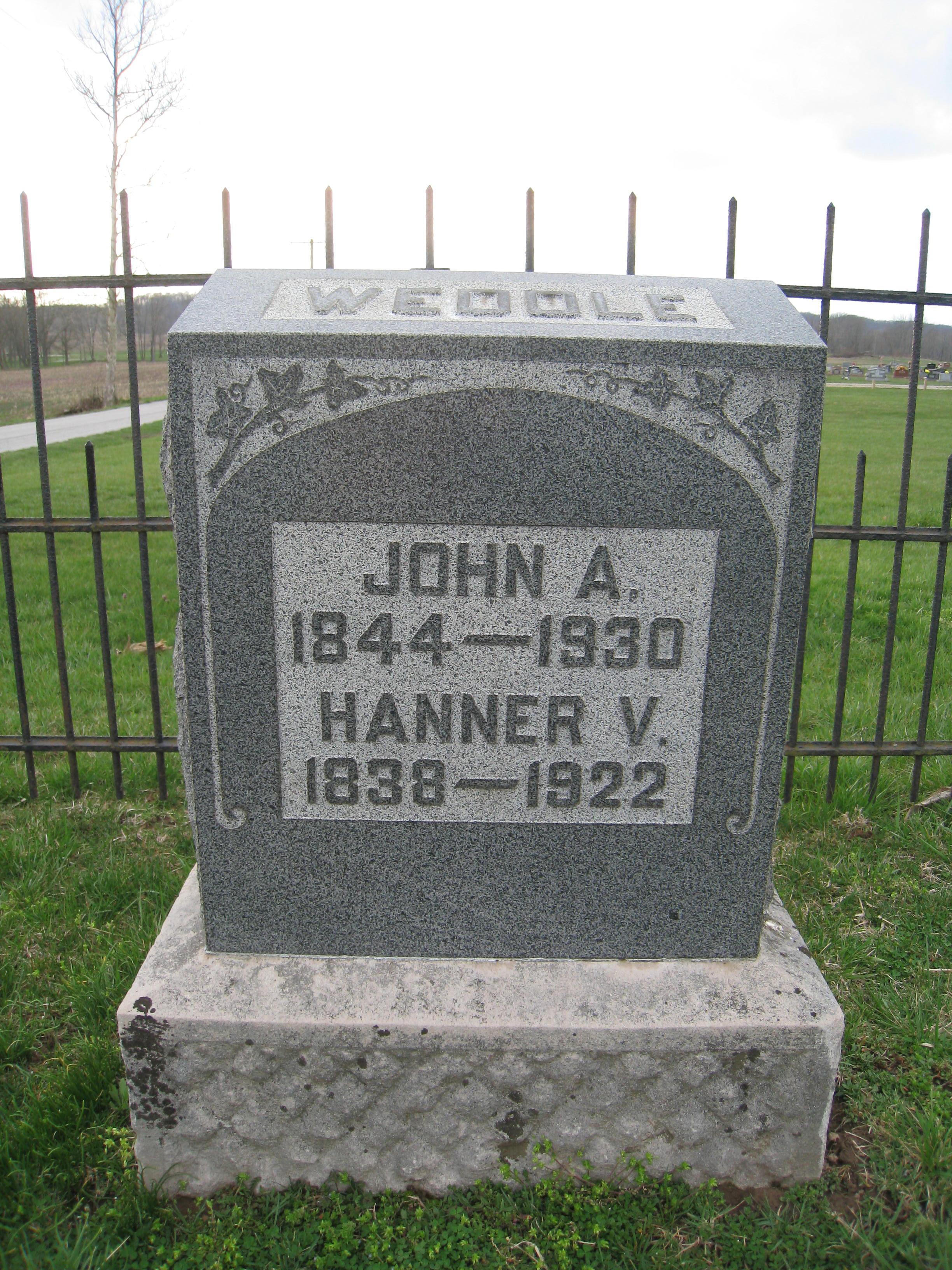 John H Weddle