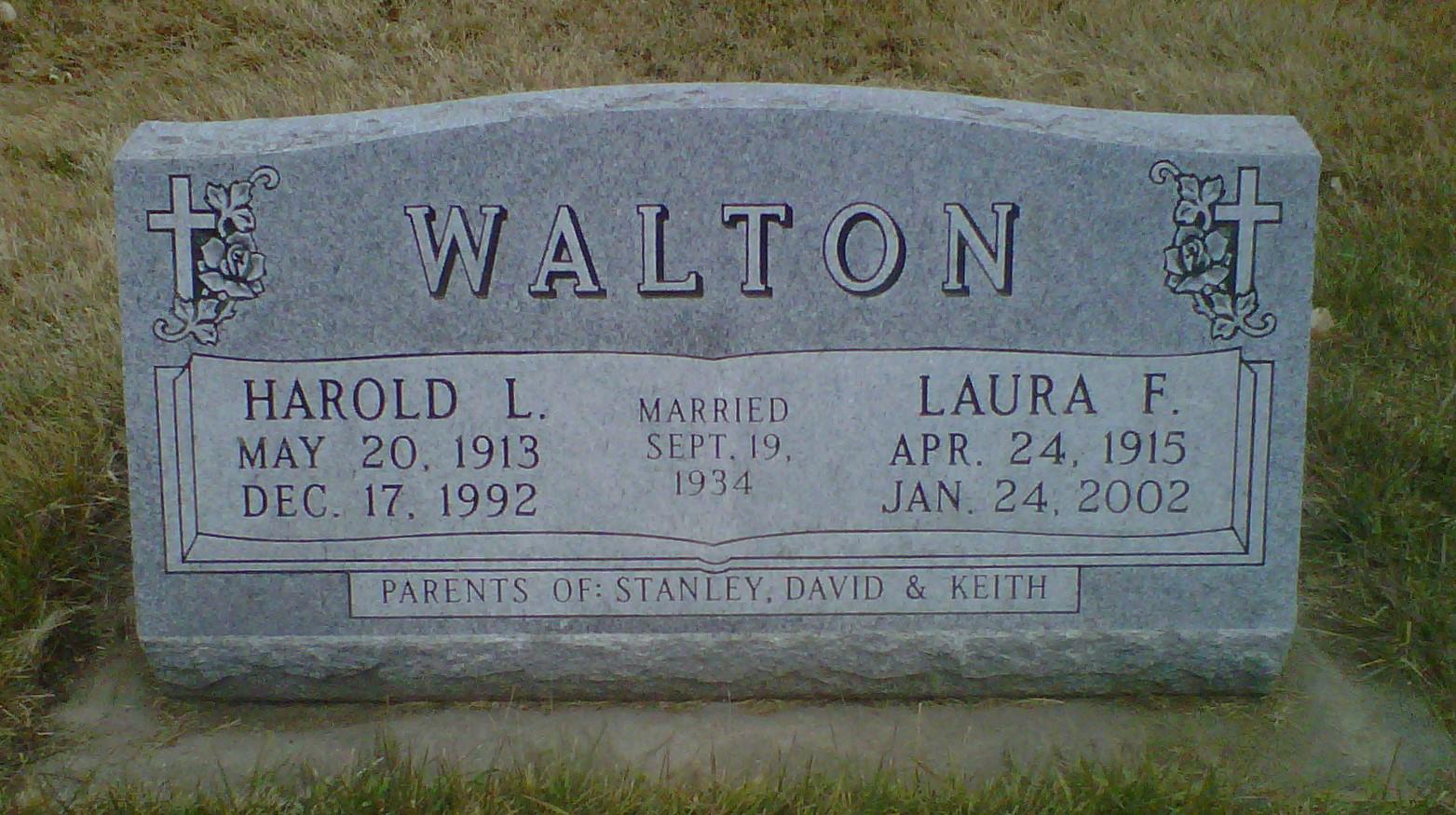 Harold W Walton
