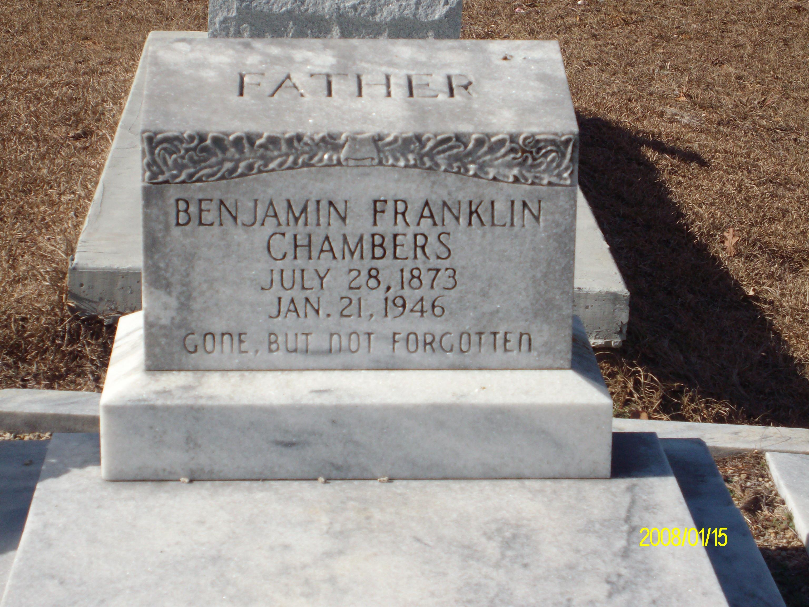 Benjamin Franklin Chambers