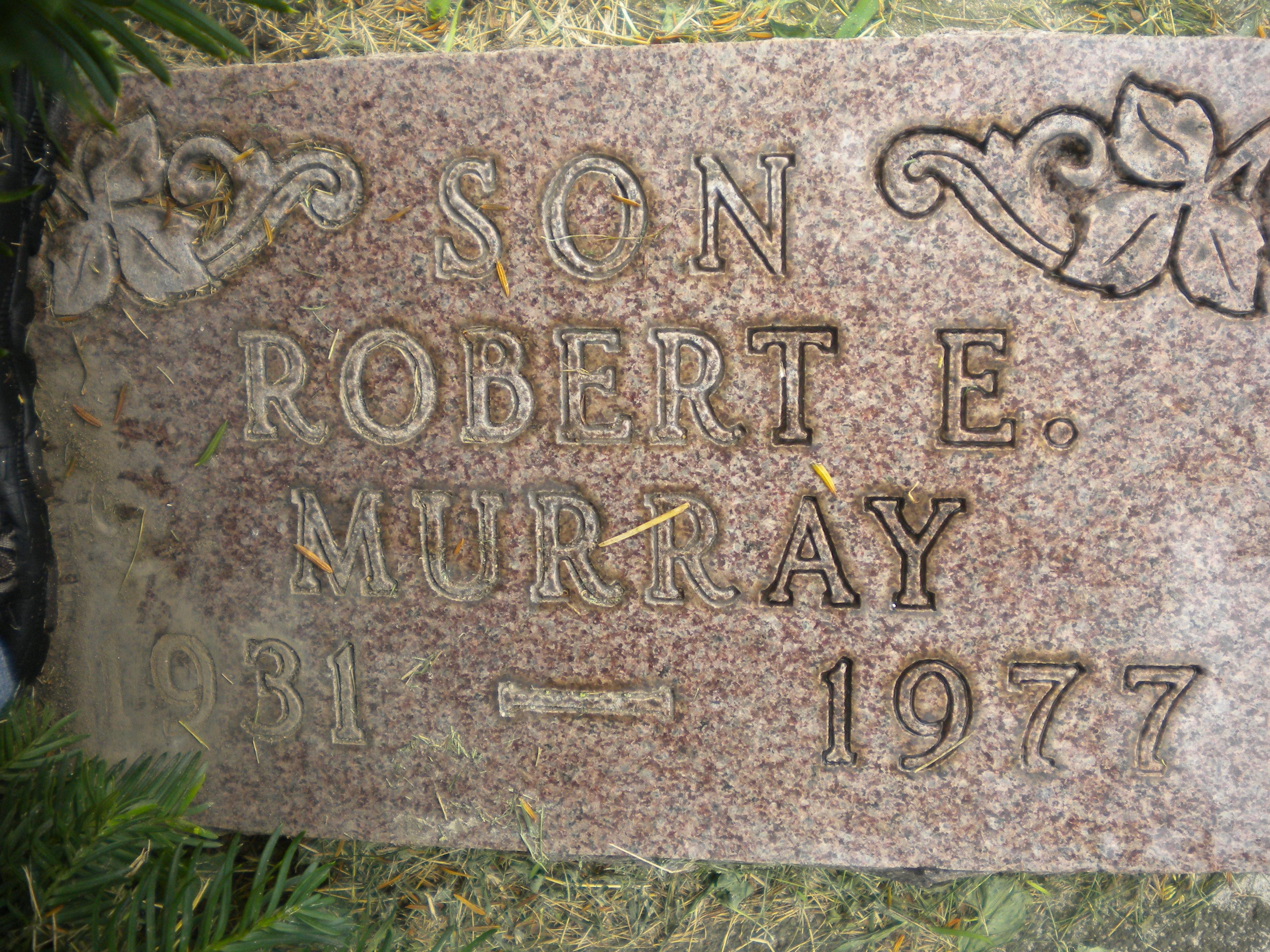 Robert Edward Murray