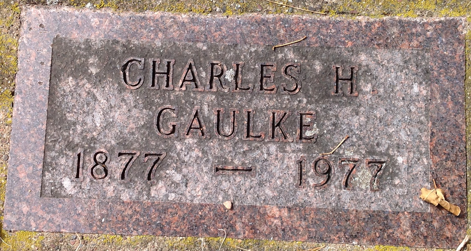 Charles Gaulke