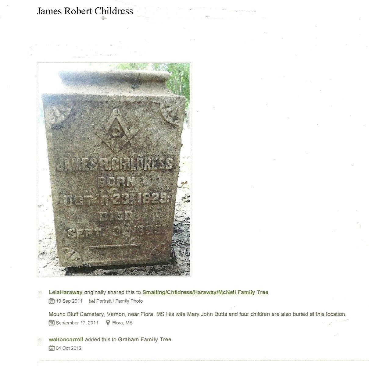 Robert M Childress