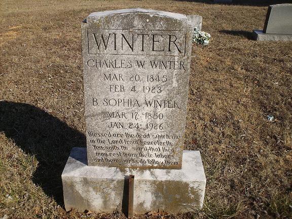 Charles Wesley Winter