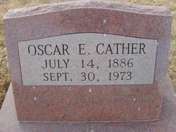 Oscar E Cather