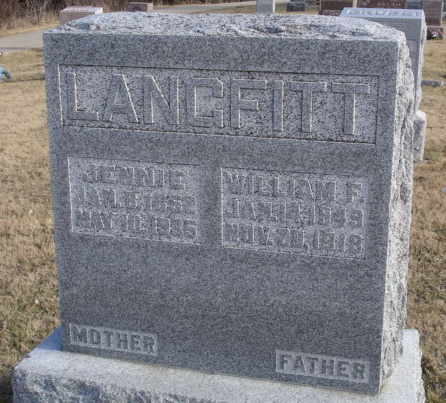 William F Langfitt