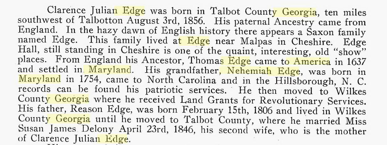 Nehemiah Edge
