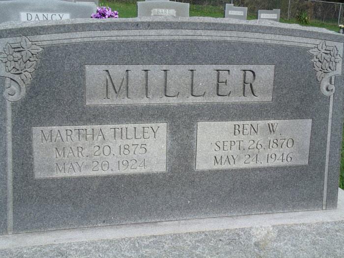 Martha Elizabeth Tilley