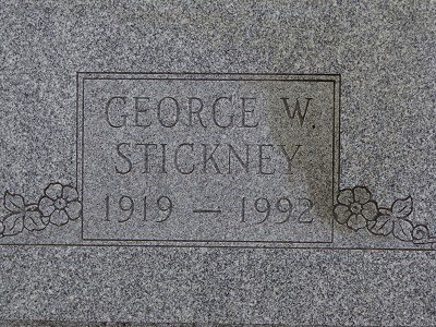 George J Stickney