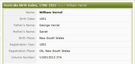 William Frederick Verrall