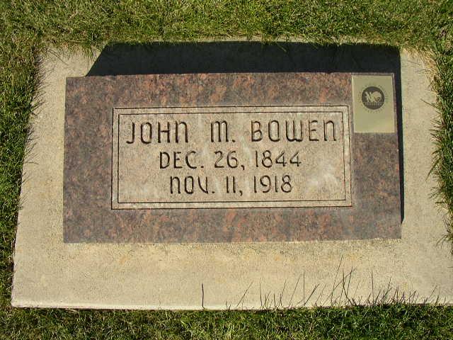 John M Bowen