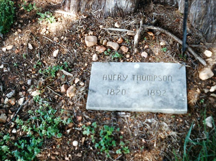 Isaac Avery Thompson