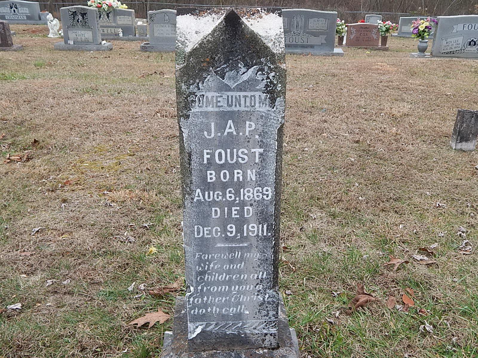 Aaron Herbert Foust