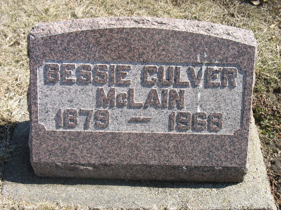Bessie Alvena Culver