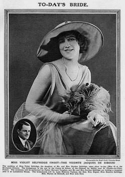 Violet Violette Selfridge