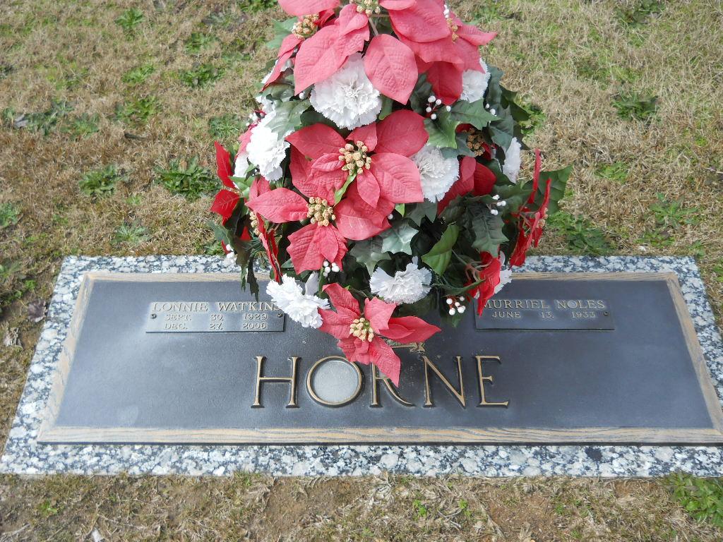 Lonnie B Horne