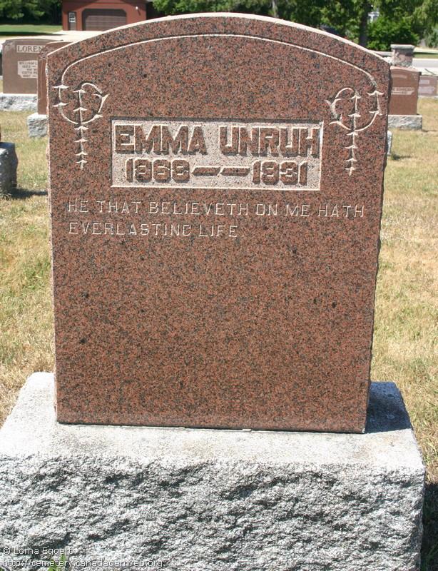 Emma Sophia Unrau