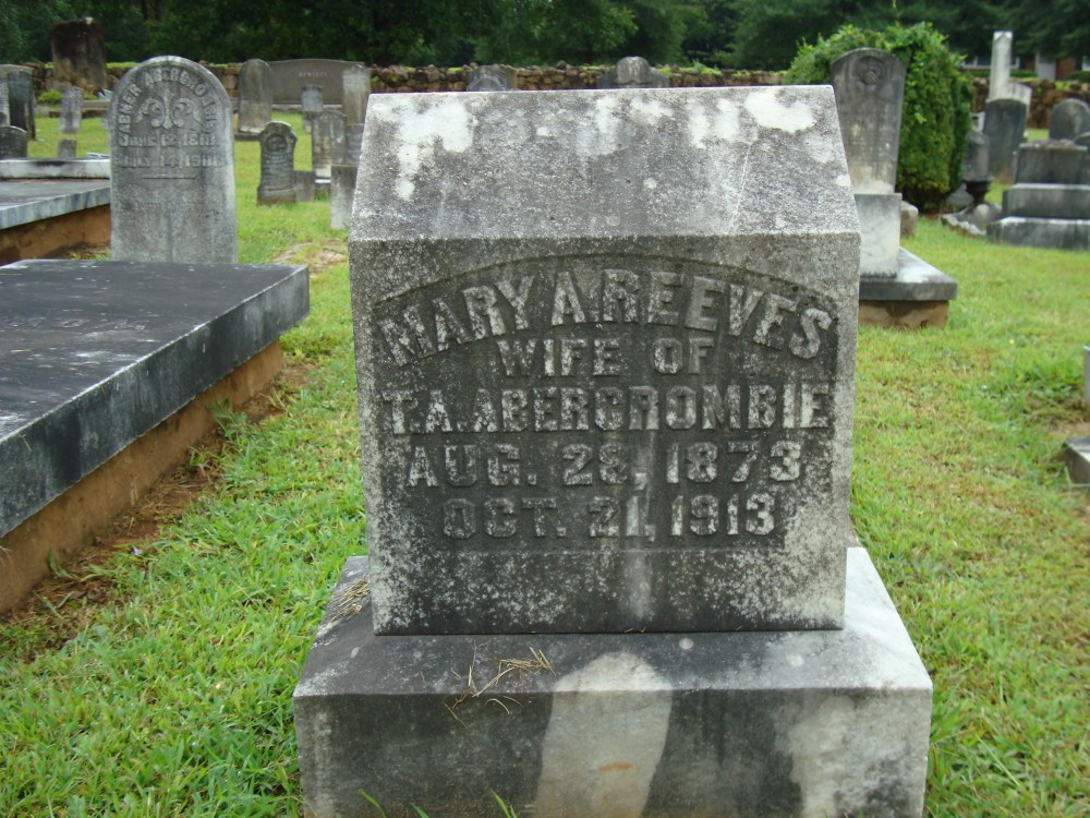 Mary Ann Reeves