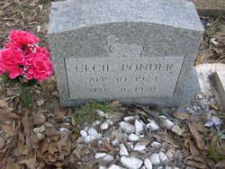 Cecil Ponder