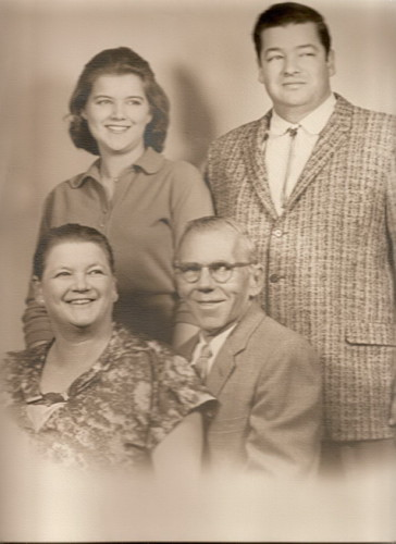 Patterson Family photo 1962