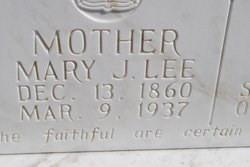Mary J Lee