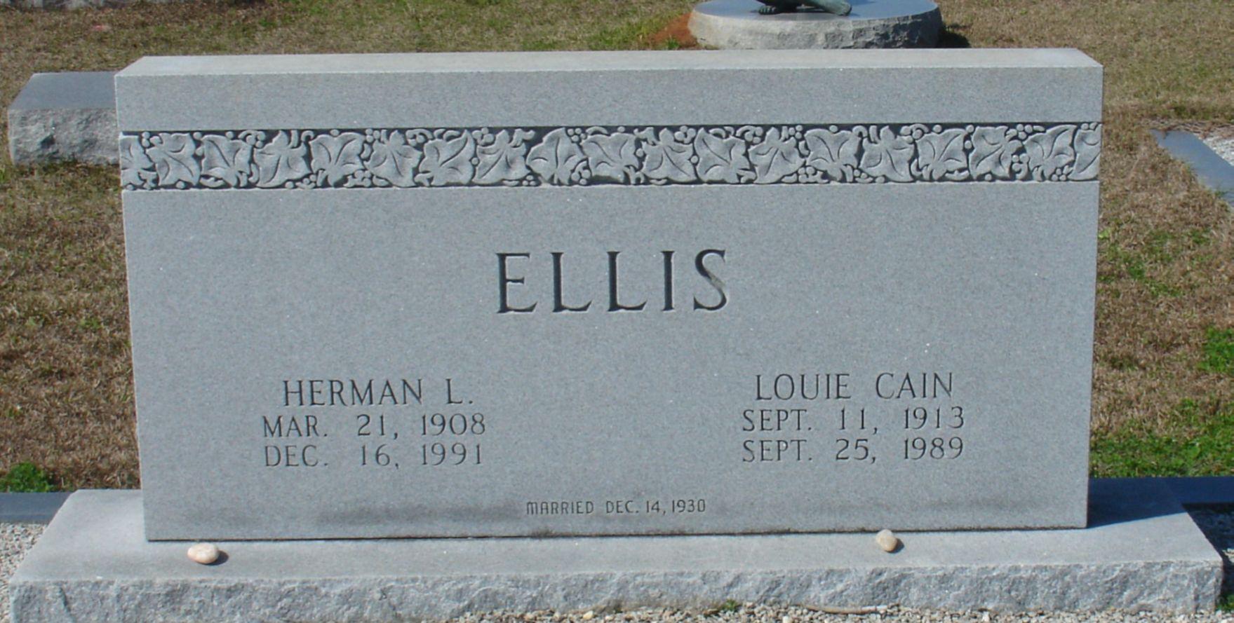 Herman L Ellis